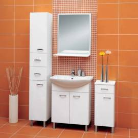 Висок шкаф за баня 185 x 30 см