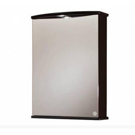 Огледален шкаф за баня, венге