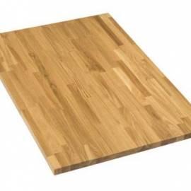 Плот за маса, слепено дърво- дъб, 180 x 80 x 32 см