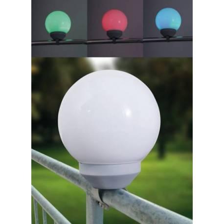 LED соларно кълбо