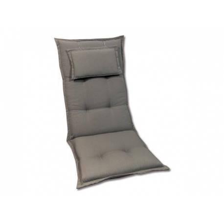 Висока възглавница за градински стол, 120 см