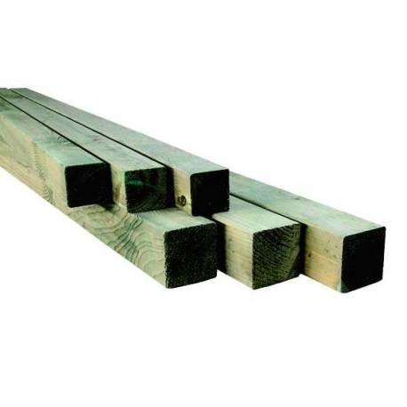 Греда окантена - 7 x 7 x 100 см, рендосана