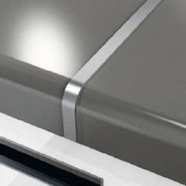 Алуминиев профил за кухненски плот, 60 см x 38 мм