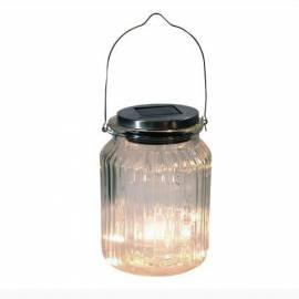 Соларeн фенер - буркан 12 LED