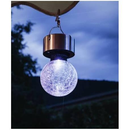 Соларна лампа - висяща, 2 бр. комплект