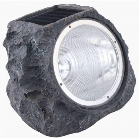 Соларна лампа - имитация камък