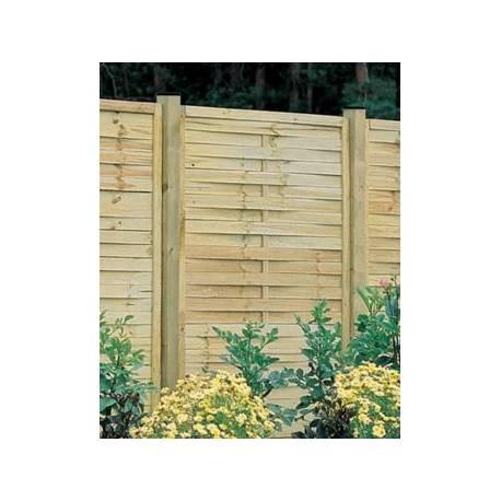 Дървена ограда - 180 x 100 см, плетена