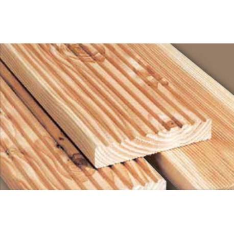 Дъска за външна тераса 2,7 x 10,5 x 300 см, импрегнирана