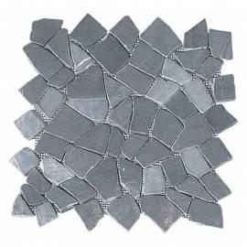 Мозайка естествен камък (пано мрежа) 30 x 30см