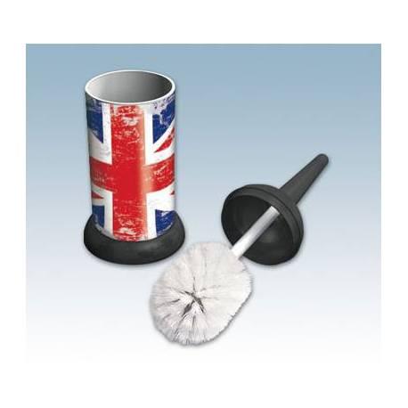 WC поставка с четка - Union Jack