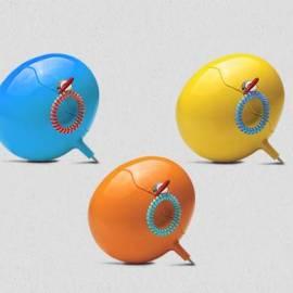 Кутия за съхранение - Safety Box, оранжева