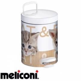 Кошче за боклук с педал 5 л, Cat and Dog