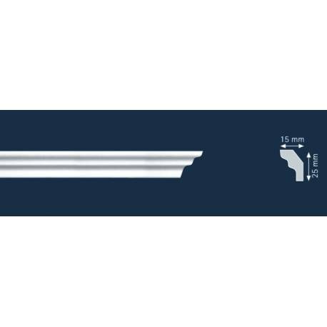 Декоративни полистиролни первази S25