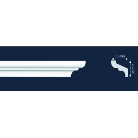 Декоративни полистиролни первази S35