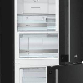 Хладилник с фризер Gorenje NoFrost Simplicity NRK61JSY2B - А+ черен