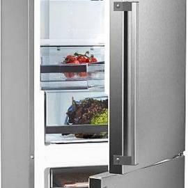 Хладилник с фризер Gorenje Simplicity - А+++ сив металик, NRK6203TX