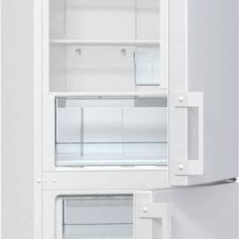 Хладилник с фризер Gorenje - А+ бял, NRK6191CW