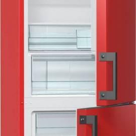 Хладилник с фризер Gorenje - А++ огнено червен, RK6192ERD