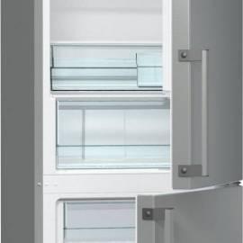 Хладилник с фризер Gorenje - А++ сребрист, RK6192EX
