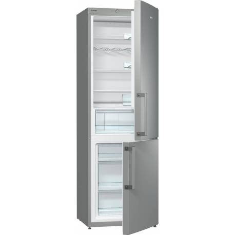 Хладилник с фризер Gorenje - А+ Сив металик, RK6191AX