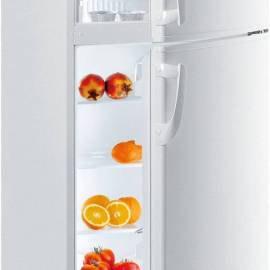 Хладилник с горна камера Gorenje - А+ бял, RF6278W