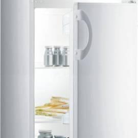 Свободностоящ хладилник с горна камера Gorenje - А+ бял, RF4141AW