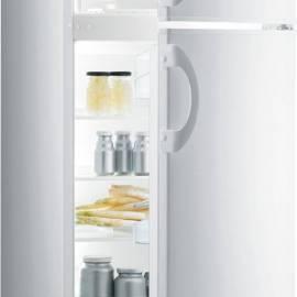 Свободностоящ хладилник с горна камера Gorenje - А+ бял, RF4121AW