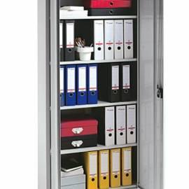 Метален шкаф 80x180x41 см с 4 рафта