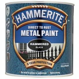 Боя за метал Hammerite, хамър, черен - 2,5 л