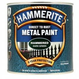 Боя за метал Hammerite, хамър, цвят - зелен - 2,5 л