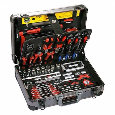 Куфар с ел. инструменти, 160 части