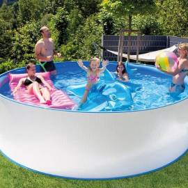 Imagén: Метален басейн - Диаметър 350 см, височина 90 см