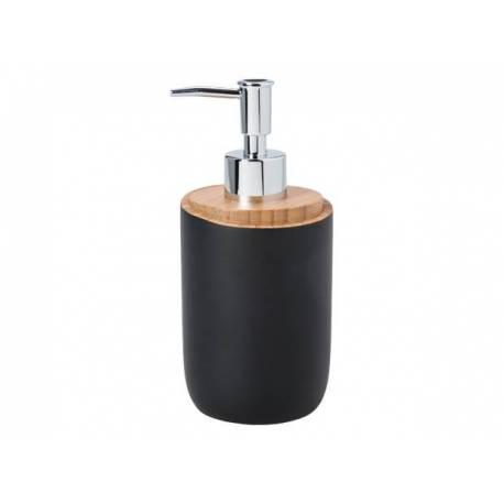 Дозатор за сапун Bambus, черен - 0.300 л