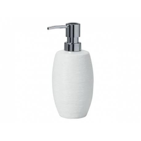 Дозатор за сапун Keramik, бял - 0.300 л