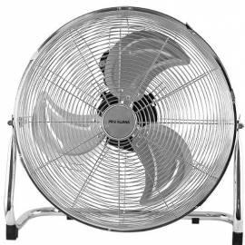 Метален вентилатор 45 см, 100 W, сребрист