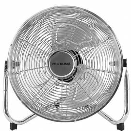 Вентилатор 30 см, 50 W, сребърист, метален