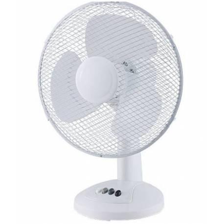 Вентилатор 30 см, 40 W ,бял