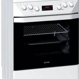 Електрическа печка със стъклокерамичен плот - клас A ,EC65320BW