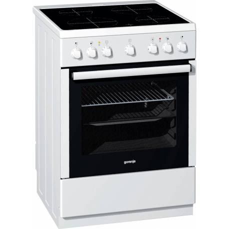 Електрическа печка със стъклокерамичен плот - клас A, EC65210AW