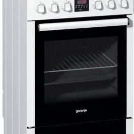 Електрическа печка със стъклокерамичен плот - клас A, EC57335AW