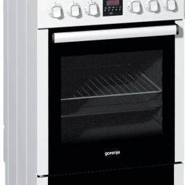 Електрическа печка със стъклокерамичен плот - клас A, EC57320AW