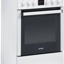 Електрическа печка със стъклокерамичен плот - клас A, EC55325AW
