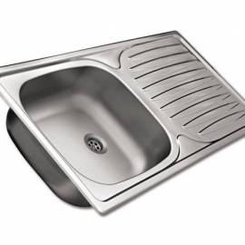 Кухненска мивка за вграждане Kitchen, 86х43,5 см