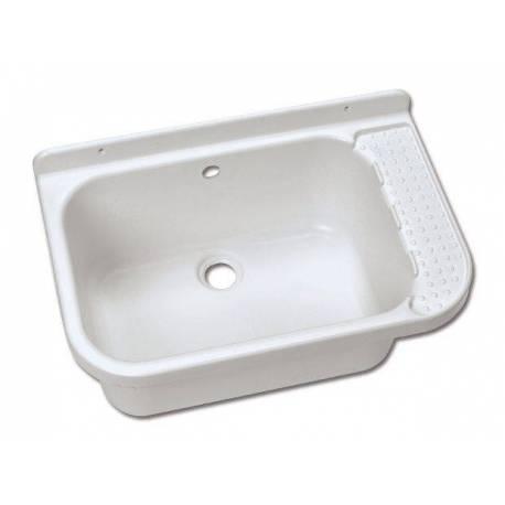 Кухненска мивка от устойчива пластмаса - 59х39х27 см