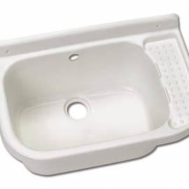 Кухненска мивка от устойчива пластмаса - 52х34х24 см