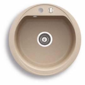 Гранитна кухненска мивка - диаметър 440 мм