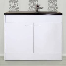 Комплект кухненска мивка с шкаф - 100 x 50 cm
