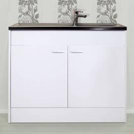Комплект кухненска мивка с шкаф - 100 x 60 cm