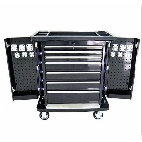 Метален шкаф за инструменти 103x90x52 см със 7 чекмеджета