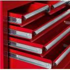 Работен шкаф - чекмедже - за инструменти, метален  110 х 62 х 33см